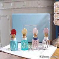 Parfums-Düfte für Frauen EDV-Parfüm 4-teiliger Düster-Duft 4 * 20ml Tragbarer Parfüm-Spray-Parfüm dauerhaft freies Verschiffen