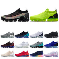 nike air vapormax 2.0 Fashion Knit 2.0 Fly Herren Damen Laufschuhe Volt Multicolor Triple Schwarz Weiß Be True Red Orbit Herren Sneakers Größe 36-45