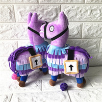 Cartoon Fortnite Llama Plush Toy Troll Stash Llama Figure Do...