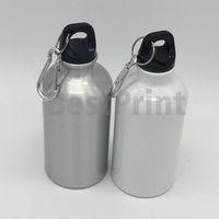400 ml boş süblimasyon spor şişesi ısı transfer baskı spor su şişesi