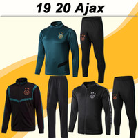19 20 Ajax ZIYECH TADIC Training Wear Set Mens Soccer Jersey...