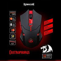 Redragon Chroma USB Wired Optical Gaming Mouse Computer mouse sensore ottico 2000 dpi 6-Key Backlight mouse M601 Gaming Mouse DHL