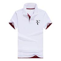 Neue roger federer ankunft heißer verkauf polo shirts männer frühling sommer 13 farben mode lässig kurzarm sh190718