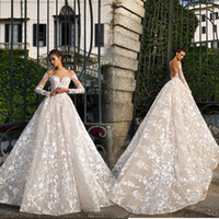 2020 Lace Ball Gown Wedding Dresses Princess Gown Corset Swe...