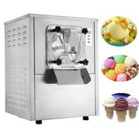 110 / 220V 1400W Commercial dur Ice Cream Making Machine 20L / H Frozen Ice Cream Making Machine