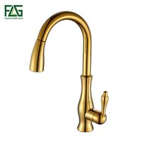 FLG Kitchen Faucet Pull Out Deck Mounted Pull Swivel 360 Deg...