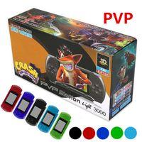 PVP3000 لاعب لعبة PVP محطة الضوء 3000 (8 بت) 2.7 بوصة وشاشة LCD يده لعبة فيديو وحدة التحكم لاعب SUP PXP3 صغيرة محمولة لعبة صندوق