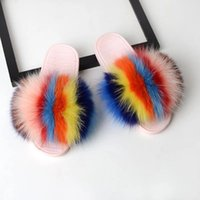 Women Casual Flat Shoes Soft Warm Fluffy Slip On Cute Home F...