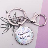 Citation inspirante Porte-clés Cabochon en verre Porte-clés Bijoux faits à la main