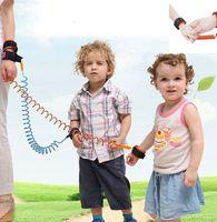 مكافحة المفقودة الفرقة طفل سلامة الطفل تسخير مكافحة فقدت حزام المعصم المقود المشي 1.5 متر في الهواء الطلق الوالد الطفل المقود حبل معصمه حزام LJJK2198
