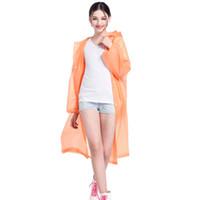 Espessamento Raincoats EVA não-descartável sólido Raincoat Moda E-Friendly Waterproof Raincoats Outdoor Viagem longa Raincoat RRA2857