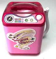 مصغرة الكهربائية محاكاة غسالة نفخة الأطفال الكهربائية تهتز نفس الفقرة نفخة غسل الاسفنجة