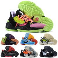 2020 New Harden Vol.4 Basketball Chaussures Hommes LS Pink Lemonade Barbershop Cookies Candy Cream Peinture sneakers Taille 40-46