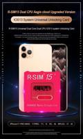 RSIM15 dual CPU Aegis cloud RSIM15 Upgrade RSIM 15 Entriegelungsstellung Karte für iPhone11promax, 11Pro, xs, x, 8P, 7P, 6 auf iOS13 System