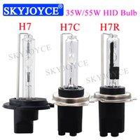 35W 55W H7 6000K Ampoule HID 4300K 5000K H7C Porte-métal de base HID Lampe frontale 6000K 8000K H7R ampoule avec revêtement H7 H7C H7CR