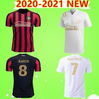 2020 2021 MLS Atlanta United camisetas de fútbol fc barco # 10 G.MARTINEZ # 7 MARTINEZ Atlanta United Local 20 20 Camisetas de fútbol TAILANDÉS