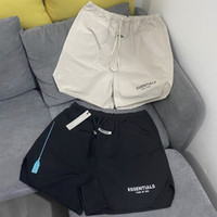 Trendy timore di Dio OS europei e americani marchio popolare Nebbia Tooling coulisse Pantaloni in nylon leggero traspirante Khaki Shorts