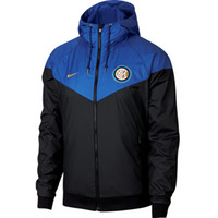 Jaquetas para homens 2019 Primavera Roupas Mens Marca Fashion Colorblock Jaqueta Casual Zipper Blusão Inter Club Sports Football Hoodies