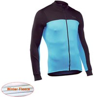 NW Winter Thermal Fleece Cycling Jersey 2020 Long sleeve Kee...