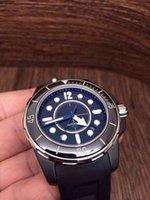 H02561 JF, 스위스 ETA2824 자동 중립 시계, 38mm, 크리스탈 유리, 사파이어, 실리콘 스트랩 바닥 가까이 트리플 배 버클
