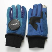 Fleece Gloves North Touch Screen Outdoor Sports Full Finger ...