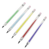 유리 연필 기화기 펜 Dabber 도구 오일 왁스 DAB 도구 6.4 인치 유리 Dabber Bong 금연 파이프 도구