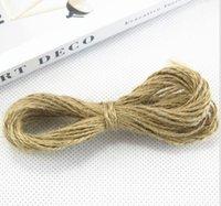 10M اثنين حبلا حبل DIY اليد الإبداعي جدار الصور الديكور يد حبل النسيج المساعدة البطاقات مادة حبل A2035