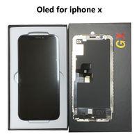 LCD de haute qualité OLED OLED pour iPhone X XS XR XSmax Afficher l'écran 3D Screen Screen Digitizer complet Assembler