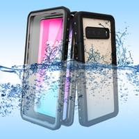 لاجهزة سامسونج جالاكسي S10 بلس S10E S10 S9 S8 بلس نوت 8 9 حافظة مضادة للماء لاجهزة سامسونج S10 5G غطاء حماية كامل للغطس تحت الماء
