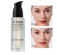 الوجه قاعدة التمهيدي 30ML المكياج الطبيعي ماتي المسام غير مرئية إطالة ماكياج الوجه أساس الوجه جل التجميل