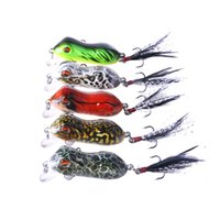HENGJIA 5cm 6g Soft Frog Fishing lure 5 colors Artificial So...