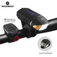 ROCKBROS Bicycle Front Light 350LM USB Rechargeable LED Bike...