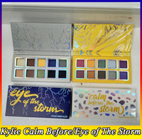 La collezione meteo Eyeshadow palette Eyes of the storm palette di ombretti Calm before the storm palette di ombretti 10 colori