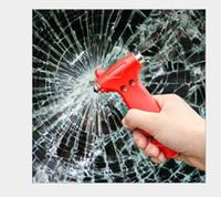 Emergency Hammer 2 in 1 automobile Glass Breaker + Sedile taglio strumento di cintura di salvataggio di sicurezza Kit fuga auto accessori di sicurezza