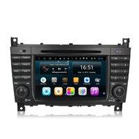 Android 7inch 8-Core pour Mercedes Benz C Classe W203 W209 2004-2007 Lecteur multimédia automobile Radio WiFi Bluetooth GPS Navigation WiFi Head Unité