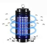 Elektrikli Sivrisinek Fly Bug Böcek Zapper Killer Yatak Odası için Tuzak Lambası Ile Hiçbir Gürültülü 110-220 V