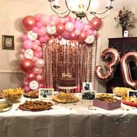 عيد الحب بالون المطبوعة بالونات الزفاف مهرجان حزب اللوازم الديكور عيد حزب بالونات الاطفال اللعب 124 قطعة / المجموعة E32502