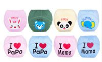 Girl Boy Baby Learning Pants Cartoon Pure Cotton Pull- up Pan...