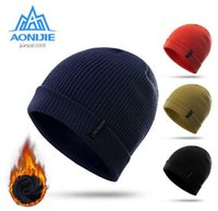 AONIJIE Outdoor Sports Winter Windproof Dicke Warme Laufmütze Winter Strickmützen Snowboardmütze Ski Running Caps