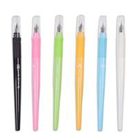 15 couleur mélange PC stylo mode Couleurs Candy Caneta Tinteiro 0.5mm stylo Rechargeables encre plume de Nib pour des fournitures scolaires