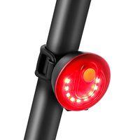 자전거 라이트 USB 자전거 도로 산 리어 라이트 방수 LED 사이클 타일 액세서리 5 조명 모드