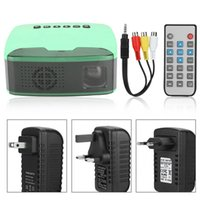 MY20 Mini 1080P HD Projector Portable Cinema Beamer AV HDMI ...