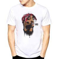 мужчины 2PAC тенниску Шэкур Hip Hop футболки рэппер Снуп Догг Бигги Смолс Eminem J Cole Jay-Z Savage хип хоп рэп