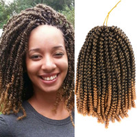 30 roots 3pc lot 8 inch Spring Twist Braiding Hair Crochet B...