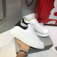 New Fashion casual sneakers for man women real leather top q...