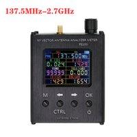 Englisch verison N1201SA / PS100 PS200 137.5MHz-2,7GHz UV RF Vector Impedanz ANT SWR Antenna Analyzer Meter Tester