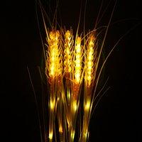 Открытых имитации светящейся пшеница тростник огней Ландшафтного освещение парки отдыха атмосфера фото украшение привело пшеницу света