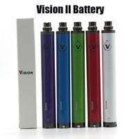 Top Vision Spin 2 Vision II Batterie für E-Zigarette 510 Thread-Verdampfer-Vape-Stift Evod Twist 3.3V-4.8V Ego-T-Batterien