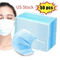US STOCK!!! Fast Shipping Disposable Face Mask Anti Dust Non...