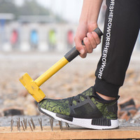 حار بيع-أحذية رياضية خفيفة الوزن السلامة للرجال تنفس الصلب تو أحذية العمل أحذية الصيف شبكة مكافحة بيرس سلامة موقع البناء